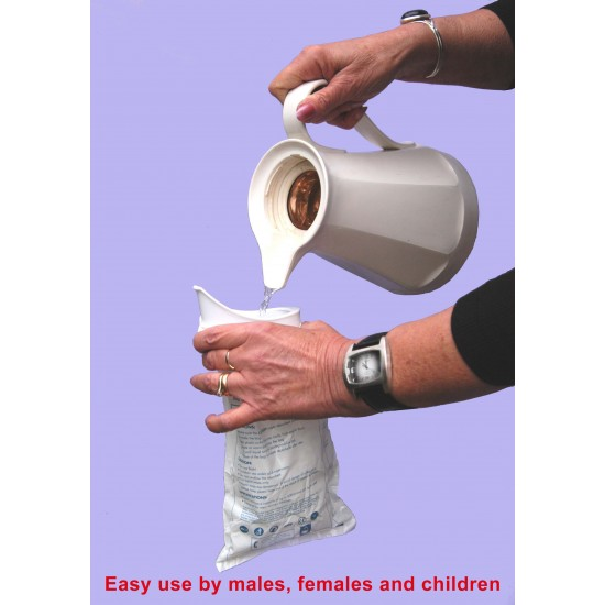 Travelloo (TravelJohn) Disposable Urinal 10  & 5 Packs